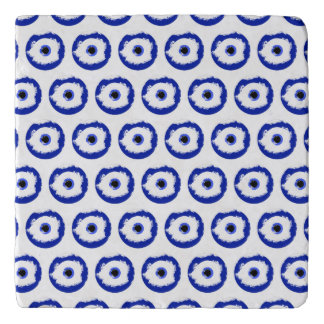 The Evil Eye Pattern Trivet