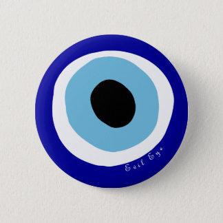 The evil eye pinback button
