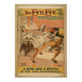 The Evil Eye Postcard