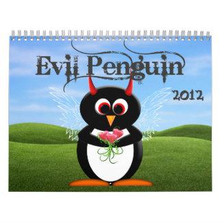 The EVIL PENGUIN™ Cartoon CALENDAR 2012