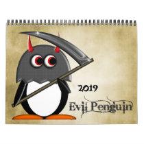The EVIL PENGUIN™ Cartoon CALENDAR 2016