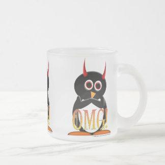"""The Evil Penguin Project """"OMG"""" Mug"""