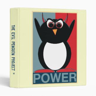 The Evil Penguin Project™ School Binders! 3 Ring Binders