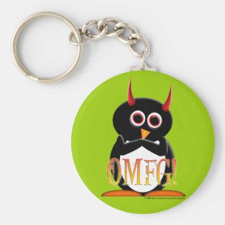 The Evil Penguin Project TM Key Chain