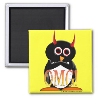 The Evil Penguin Project TM Magnet