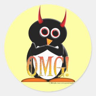 The Evil Penguin Project TM Stickers