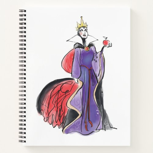 The Evil Queen  In Evil Thought Notebook