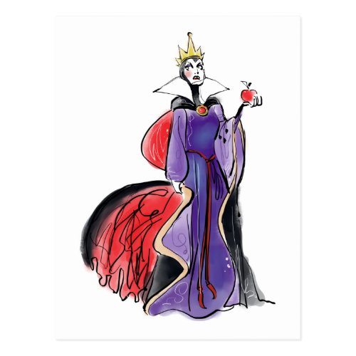 The Evil Queen  In Evil Thought Postcard