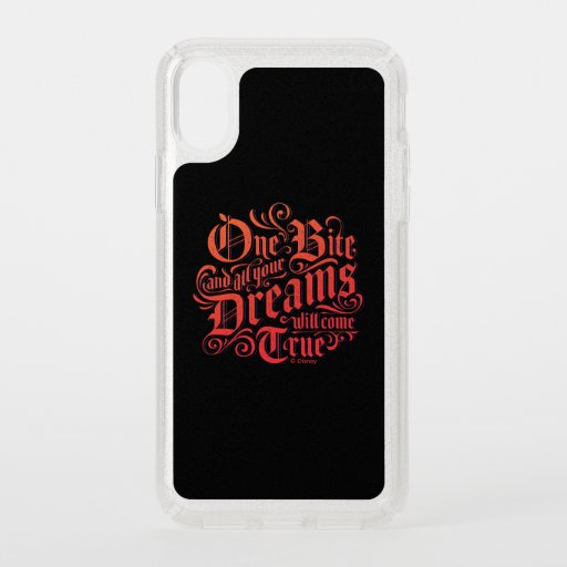 The Evil Queen | One Bite Speck iPhone XS Case