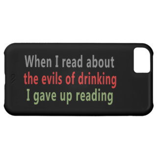 The Evils of Drinking iPhone 5C Covers