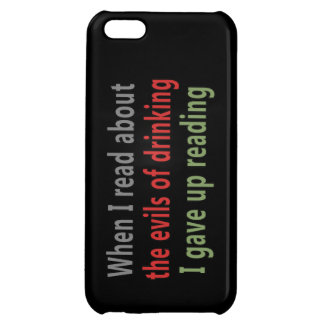 The Evils of Drinking iPhone 5C Case