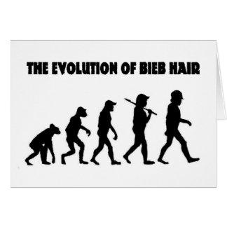 The Evolution of B Hair Card