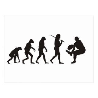 The Evolution Of Baseball Pitcher Postcard