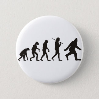 The Evolution Of Bigfoot Button