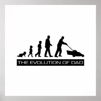 The Evolution of Dad Print