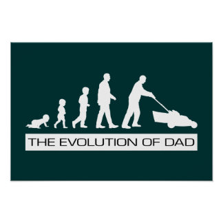 The Evolution of Dad Poster