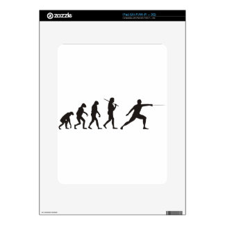 The Evolution Of Fencing Decal For The iPad