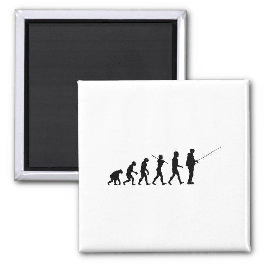 The Evolution Of Man Magnet
