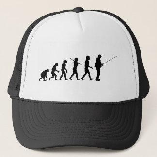 The Evolution Of Man Trucker Hat