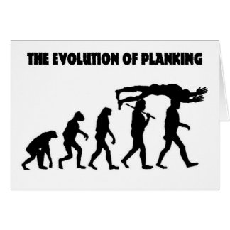 The Evolution Of Planking Card