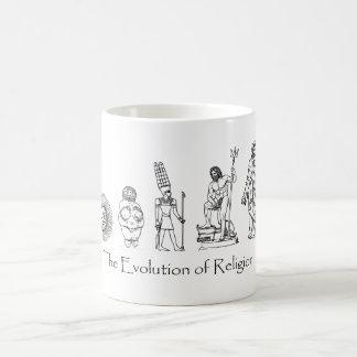 The Evolution of Religion Coffee Mug