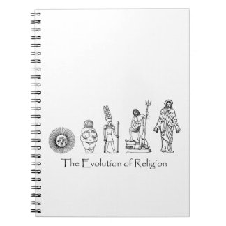 The Evolution of Religion Notebook