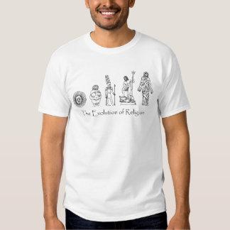 The Evolution of Religion Tee Shirt