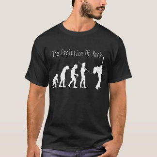 The evolution of rock t-shirt