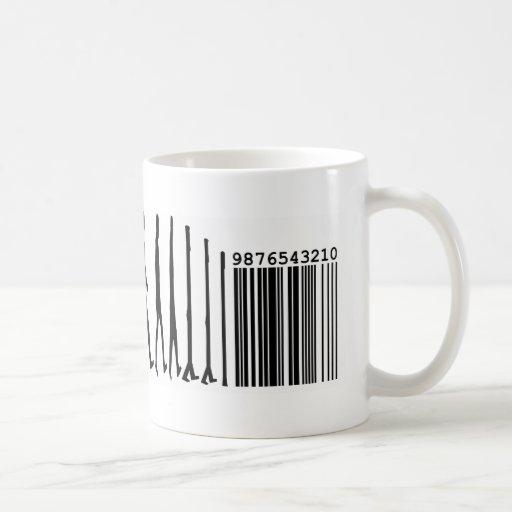 The Evolution of the Commodification of Man Coffee Mug