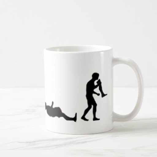The Evolution of Zombies Coffee Mug
