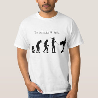 The evolutoin of rock t-shirt