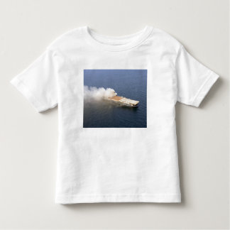 The ex-Oriskany, a decommissioned aircraft carr Toddler T-shirt