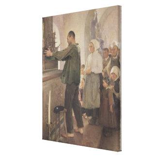 The Ex Voto, 1898 Canvas Print