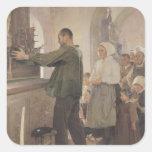 The Ex Voto, 1898 Square Sticker