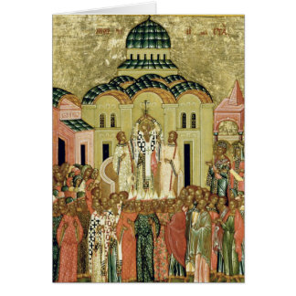 The Exaltation of the Cross Greeting Card
