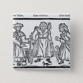 The Examinations of Anne Baker, Joanne Pinback Button