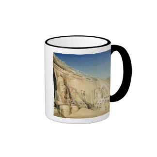 The Excavation of the Great Temple of Ramesses II, Ringer Coffee Mug