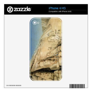 The Excavation of the Great Temple of Ramesses II, Skin For iPhone 4