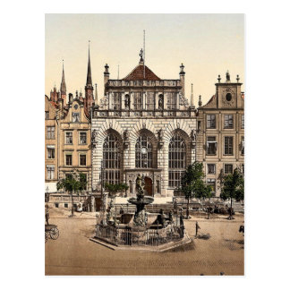 The Exchange and Artushof Danzig West Prussia G Post Cards