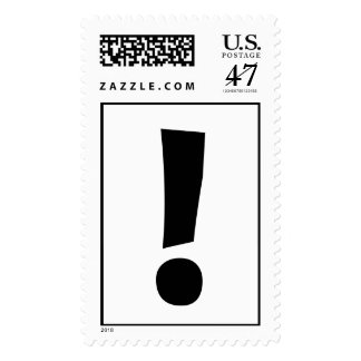 The Exclamation Point! Postage