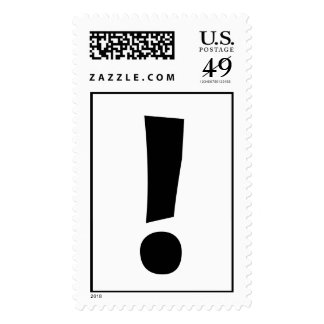 The Exclamation Point! Stamps