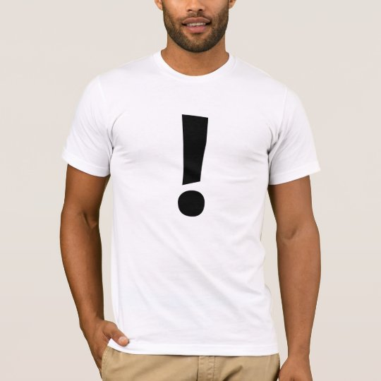 The Exclamation Point! T-Shirt