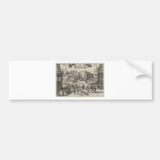 The Execution of Guy Fawkes Bumper Sticker