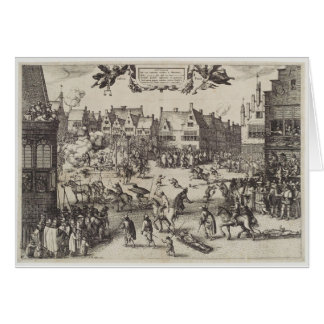 The Execution of Guy Fawkes Greeting Card