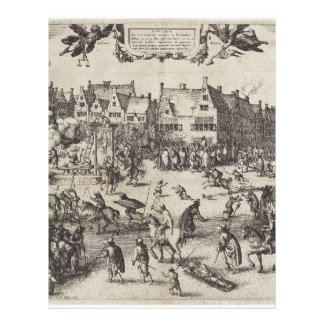 The Execution of Guy Fawkes Letterhead