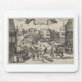 The Execution of Guy Fawkes Mouse Pad