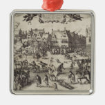 The Execution of Guy Fawkes Christmas Tree Ornaments