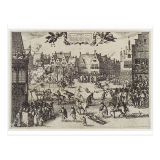 The Execution of Guy Fawkes Postcard