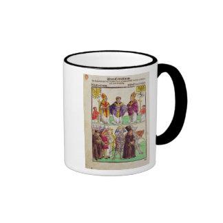 The execution of Jan Hus Coffee Mugs