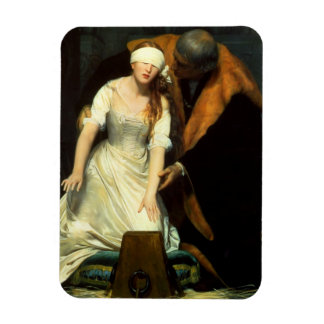 the execution of lady jane grey flexible magnet